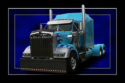 Kenworth Customised Art Print