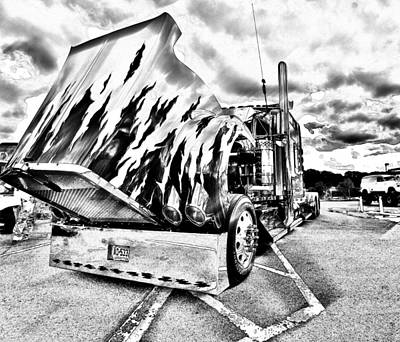 Kenworth Rig Art Print