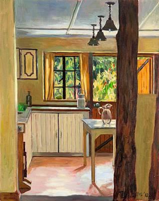 Interior Still Life Painting - Kenyan Kitchen by Tilly Willis