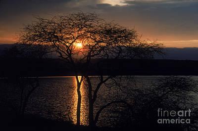 Photograph - Kenyan Sunset by Gregory G. Dimijian, M.D.