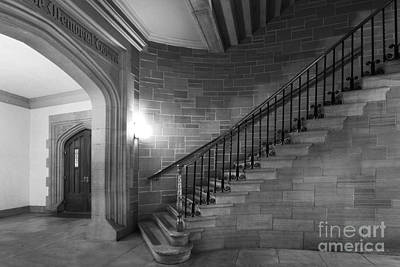 Kenyon College Peirce Stairway Art Print by University Icons