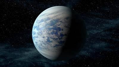 Kepler-69c Print by Nasa/ames/jpl-caltech