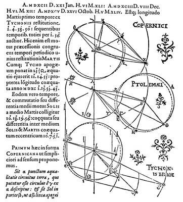 Photograph - Kepler: Astronomia, 1609 by Granger