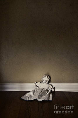 Cloth Doll Photograph - Kept In The Dark by Margie Hurwich