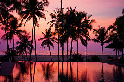 Kerala Photograph - Kerala Sunset by Image By Christopher Jacobs