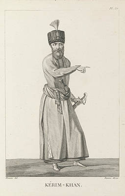 Kerim-khan Print by British Library