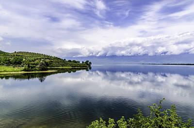 Photograph - Kerkini Lake View. by Slavica Koceva
