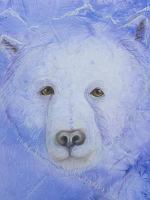 Kermode Painting - Kermode Bear by Rosemary Hayes