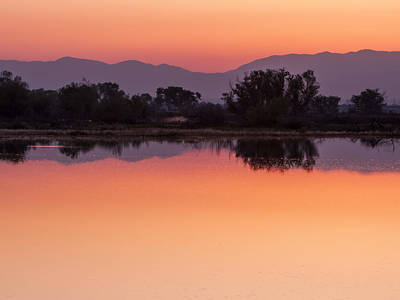 Wall Art - Photograph - Kern River Sunrise II by Martin Varga