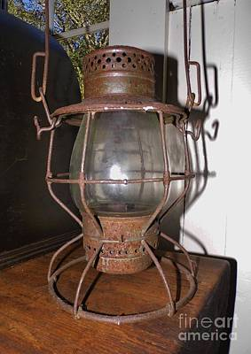 Photograph - Kerosene Lamp by D Hackett