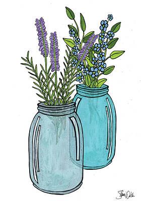 Kerr Jar Vi Art Print