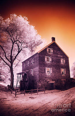 Kerr Mill Art Print by Dan Carmichael