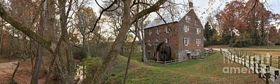 Kerr Mill Panorama Landscape Art Print by Adam Jewell
