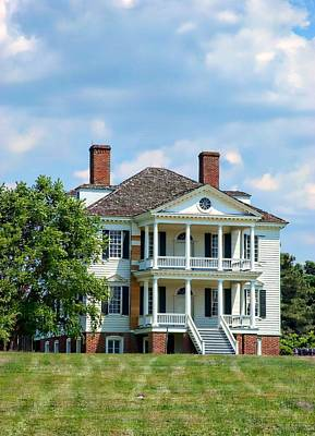 Photograph - Kershaw House Camden Sc by Bob Pardue