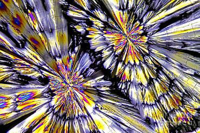 Ketamine Crystals Art Print by M. I. Walker