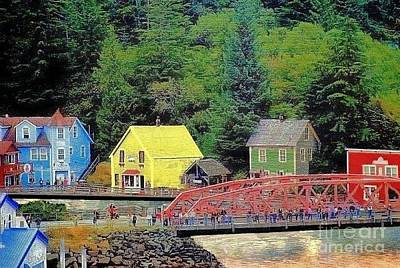Photograph - Ketchikan Alaska In August by Janette Boyd