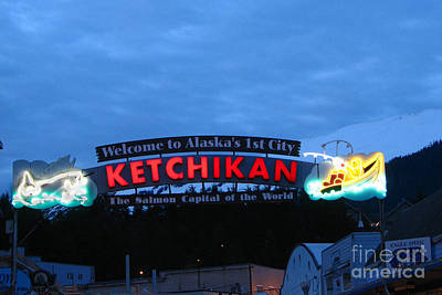 Ketchikan Art Print by Robert Bales