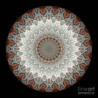 Digital Art - Keti 25b Mandala by Aimelle