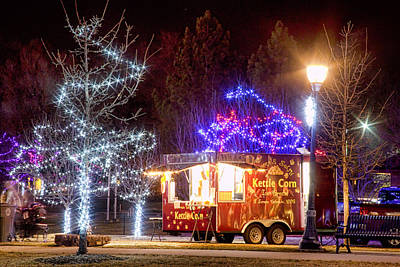 Photograph - Kettle Corn Stand by James BO  Insogna