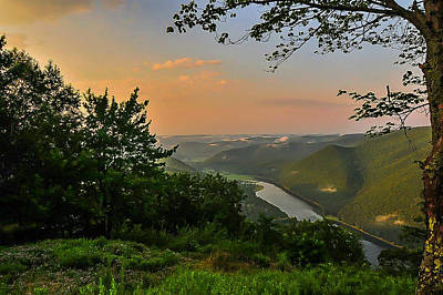Wall Art - Photograph - Kettle Creek Vista by Scott Hafer