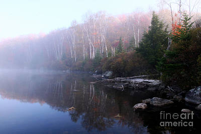 Photograph - Kettle Pond Vt by Butch Lombardi