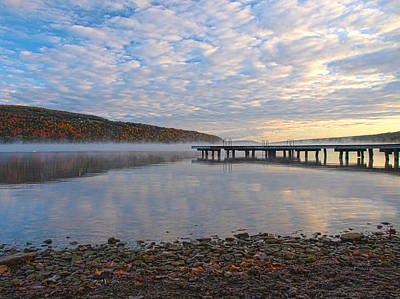 Photograph - Keuka Dawn by Joshua House