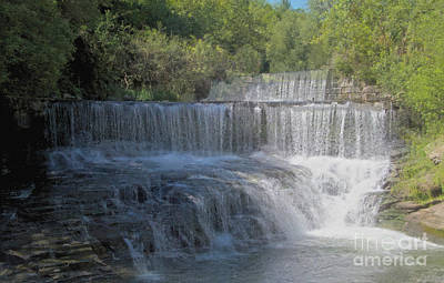 Photograph - Keuka Outlet Falls by William Norton
