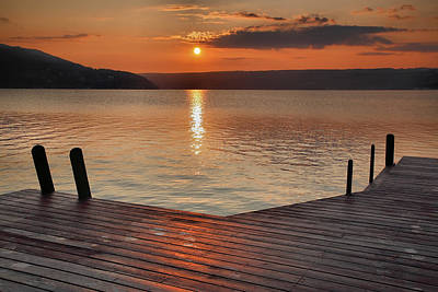 Keuka Photograph - Keuka Sunrise II by Steven Ainsworth
