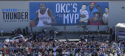 Photograph - Kevin Durant Mvp by Cooper Ross