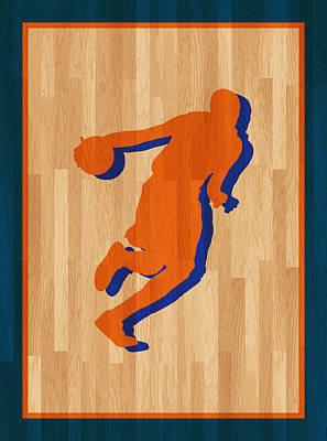 Kevin Durant Oklahoma City Thunder Print by Joe Hamilton