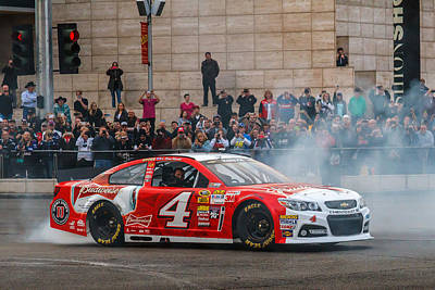 Kevin Harvick Print by James Marvin Phelps