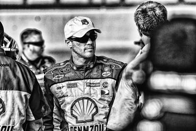 Kevin Harvick Nascar Print by Kevin Cable