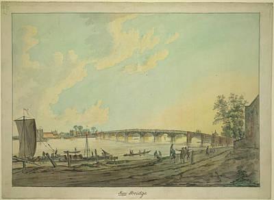 Wooden Bridges Photograph - Kew Bridge by British Library
