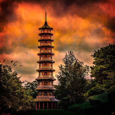 Photograph - Kew Gardens Pagoda by Chris Lord
