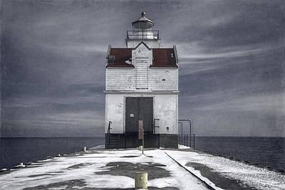 Kewaunee Pierhead Lighthouse Art Print