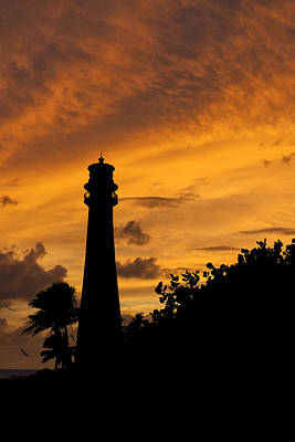 Photograph - Key Biscayne Fl Lighthouse Img 6806 by Greg Kluempers