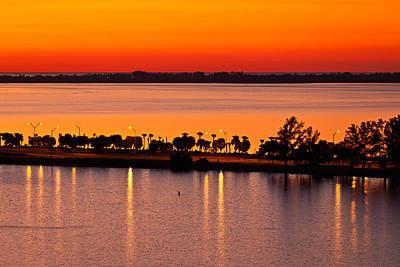 Miami Photograph - Key Biscayne Sunrise by Jonathan Gewirtz