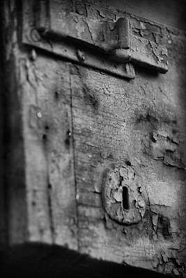 Photograph - Key Hole And Latch by Nadalyn Larsen