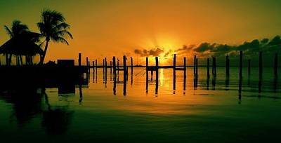 Photograph - Key Largo Evening by Benjamin Yeager