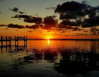 Photograph - Key Largo Sunset by Benjamin Yeager