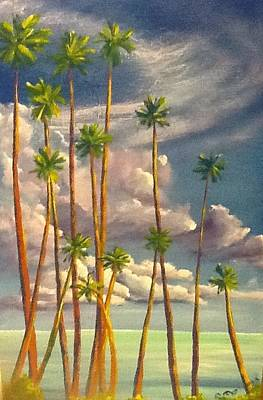 Painting - Key Palms by Patti Lane