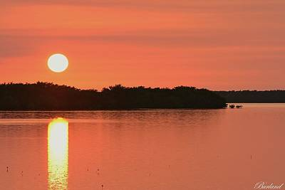 Photograph - Key Sunset by Burland McCormick
