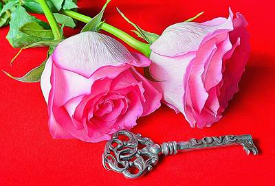 Photograph - Key To My Heart 3 by Diane Alexander