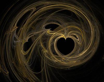 Digital Art - Key To My Heart by Betsy Jones
