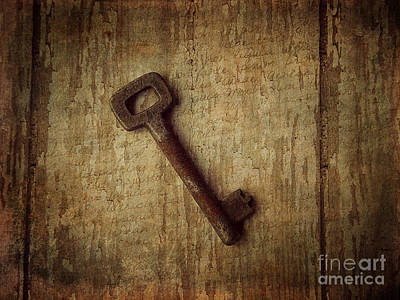 Key To My Secret Art Print by Lorraine Heath