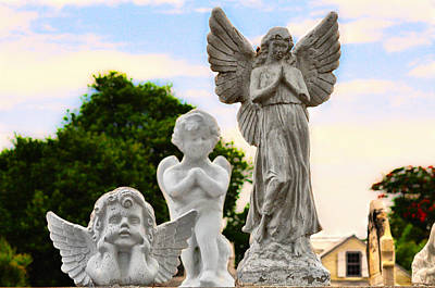 Angel Photograph - Key West Angels by Bill Cannon