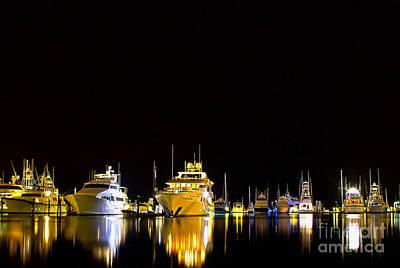 Key West Bay Reflections Original