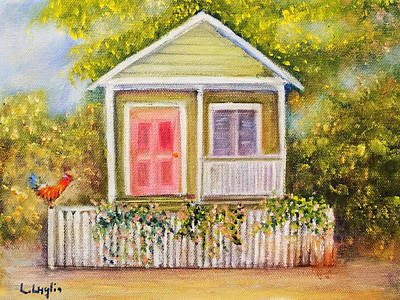 Painting - Key West Cottage by Loretta Luglio