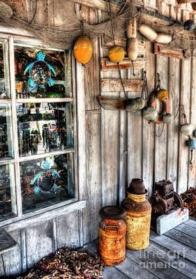 Milk Can Photograph - Key West Curios 2 by Mel Steinhauer