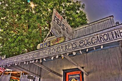 Photograph - Key West Eatin by Joetta West